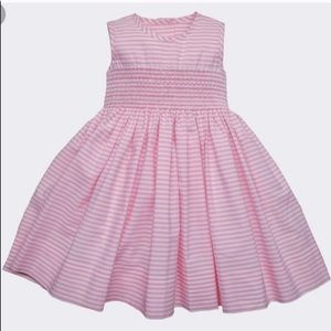Baby CZ Pink Striped Camille Dress